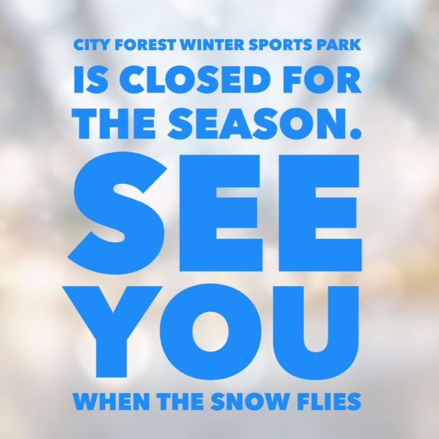 City Forest Closed