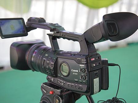 A digital video camera