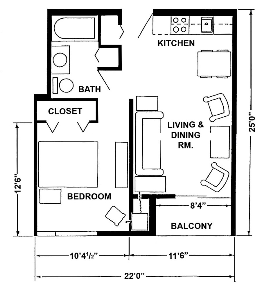 Apartment layouts midland mi official website for One bedroom apartment layout