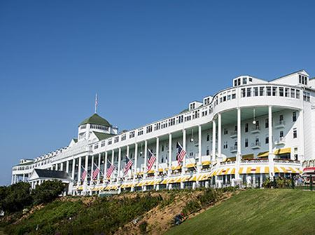 The Grand Hotel at Mackinac Island