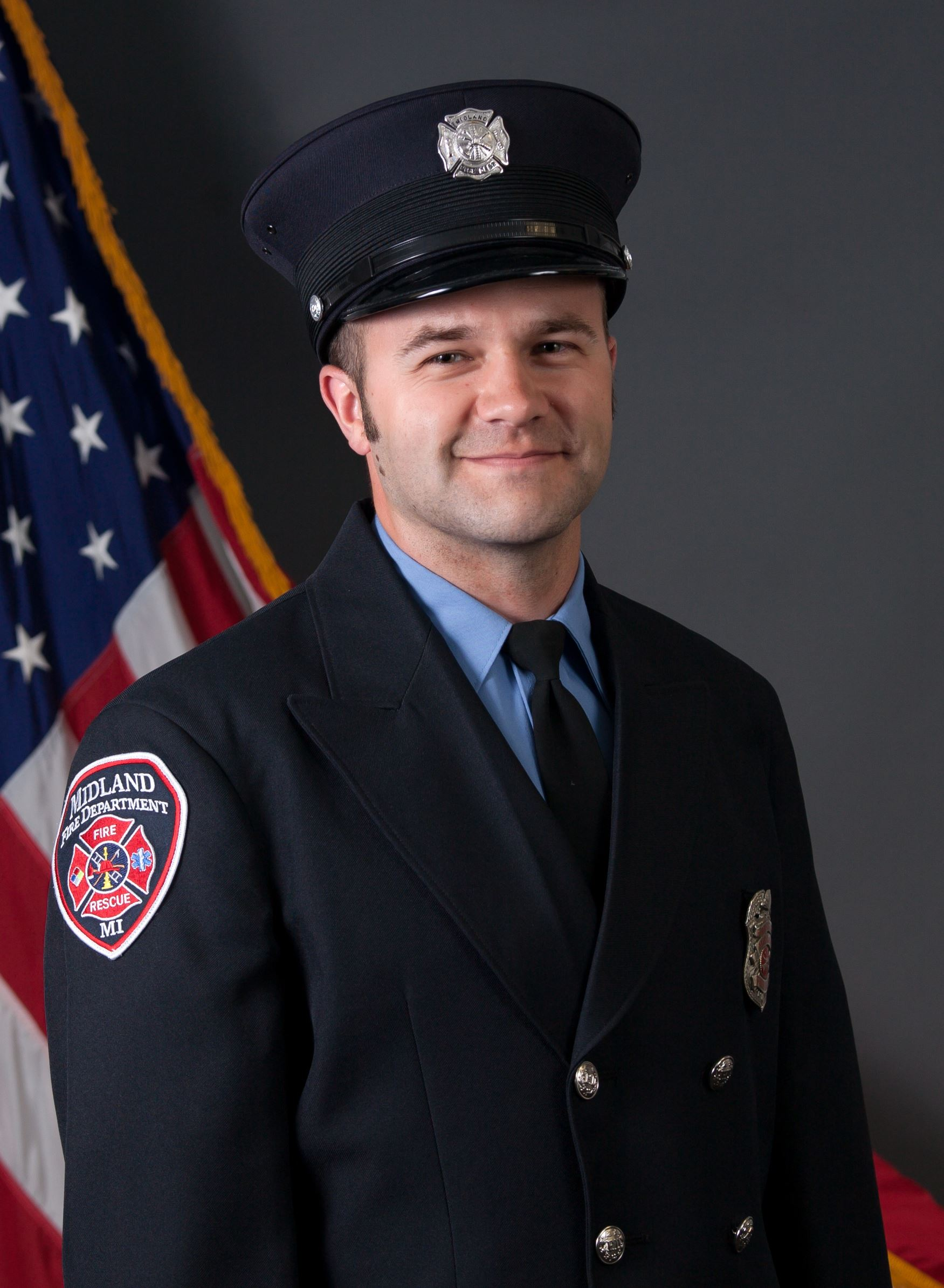 Firefighter Jim Daveluy