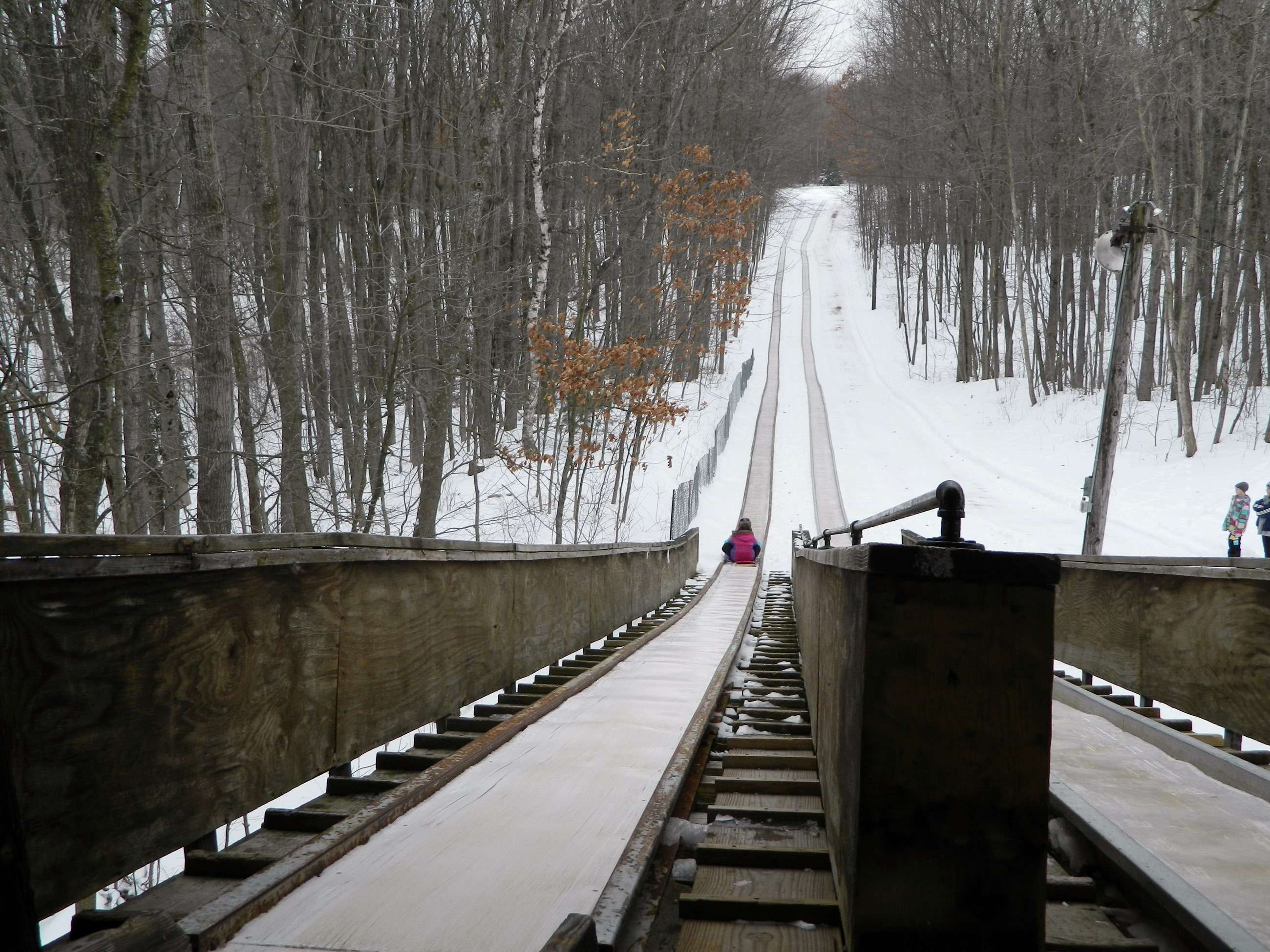 Toboggan Run Looking Down